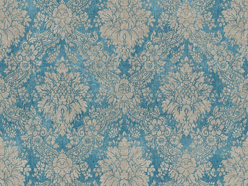 A S Creation Vliestapete Secret Garden Ornamente Blau Taupe Kaufen Bei Obi