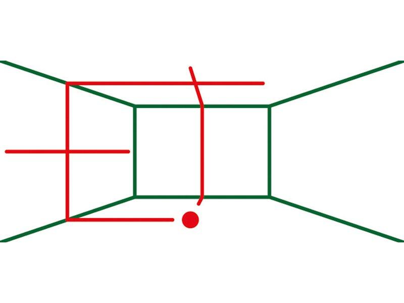 Laser Entfernungsmesser Obi : Bosch kreuzlinienlaser universallevel set kaufen bei obi