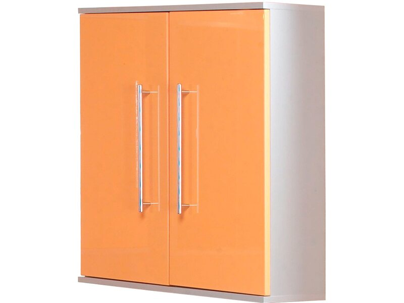kesper h ngeschrank 2 t rig elba orange hochgl nzend kaufen bei obi. Black Bedroom Furniture Sets. Home Design Ideas