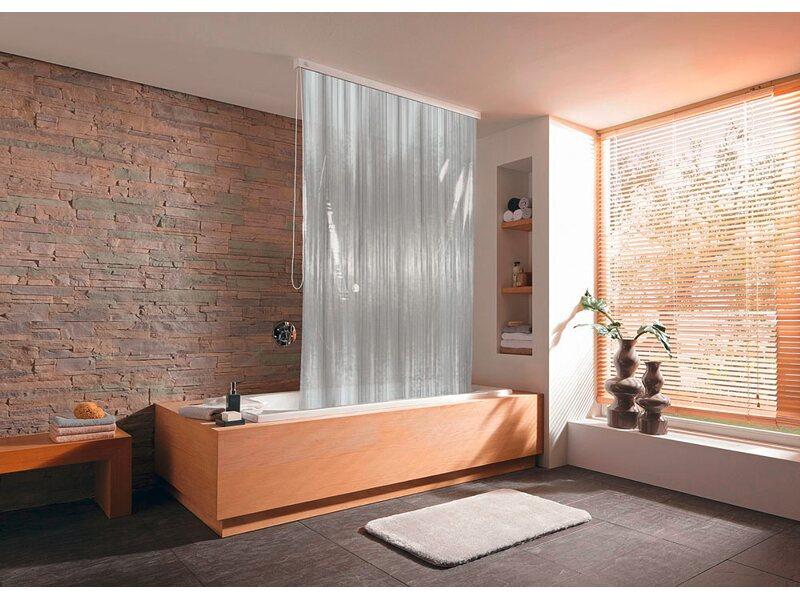 kleine wolke eckduschrollo 56 132 cm x 240 cm milky kaufen bei obi. Black Bedroom Furniture Sets. Home Design Ideas