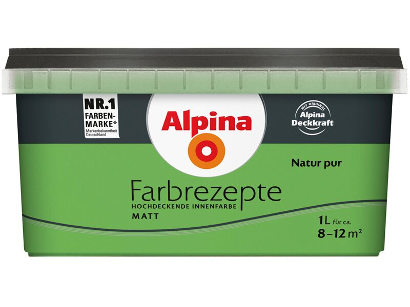 Alpina farbrezepte natur pur matt 1 l kaufen bei obi for Obi raumplaner