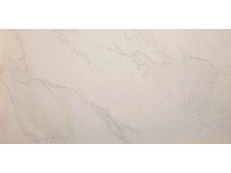 feinsteinzeug carrara wei matt marmoriert 60 cm x 60 cm kaufen bei obi. Black Bedroom Furniture Sets. Home Design Ideas