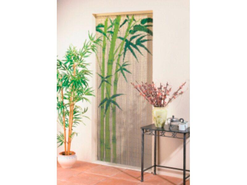 dekorationsvorhang bamboo 90 cm x 200 cm kaufen bei obi. Black Bedroom Furniture Sets. Home Design Ideas