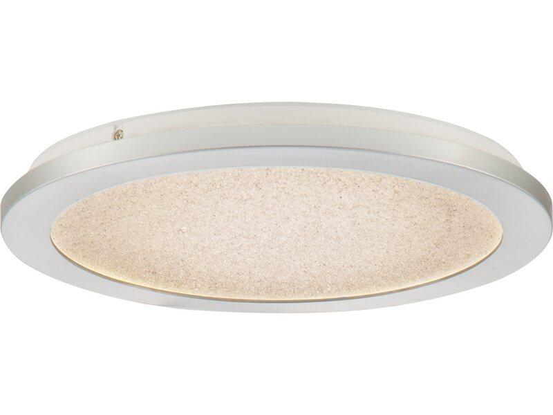 Nino Leuchten LED Deckenleuchte Ikoma Silberfarbig Ø 30 cm EEK: A A++