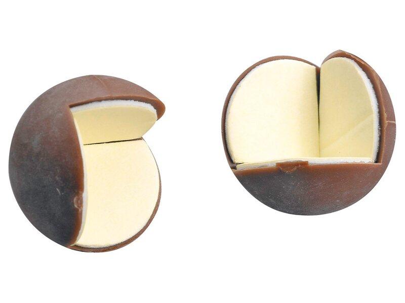 hettich eckenpuffer selbstklebend rund braun kaufen bei obi. Black Bedroom Furniture Sets. Home Design Ideas