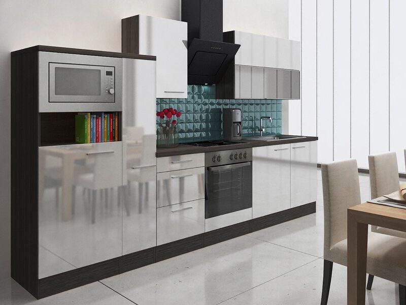 Respekta premium küchenzeile rp ewcmis cm weiß eiche grau