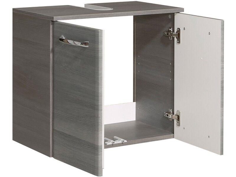 Pelipal Waschbeckenunterschrank 60 cm Alika Graphit kaufen bei OBI | {Waschbeckenunterschrank stehend grau 19}