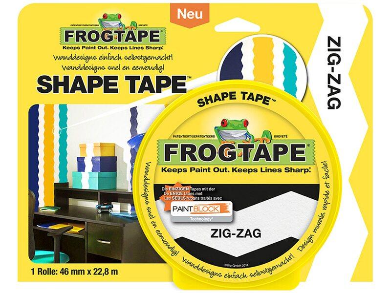 frogtape shape tape zig zag 46 mm x 22 8 m kaufen bei obi. Black Bedroom Furniture Sets. Home Design Ideas