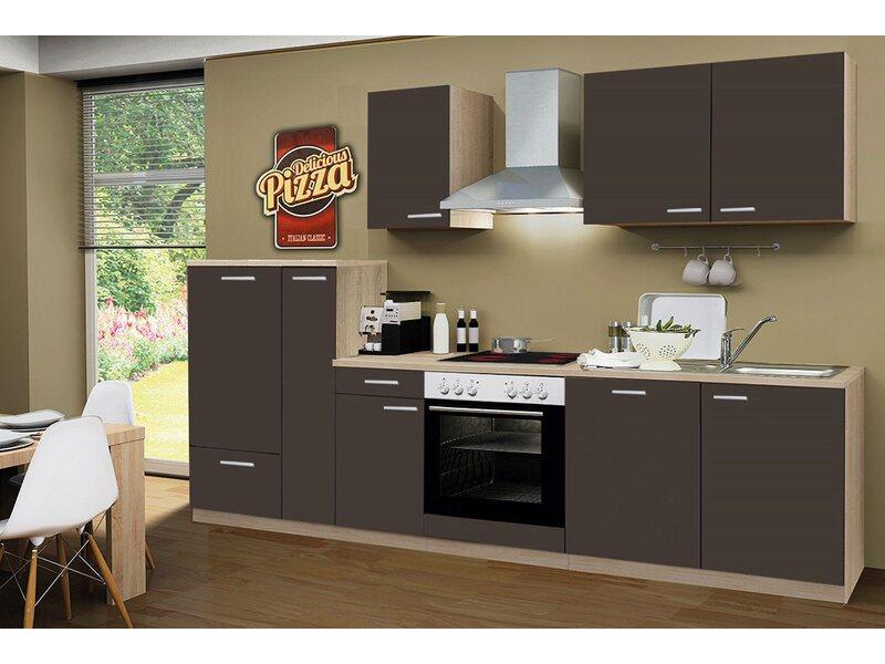 Miniküche Mit Kühlschrank Und Geschirrspüler : Küchenzeilen u infos und günstig online kaufen obi