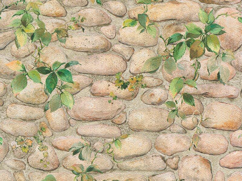 Vliestapete steinoptik beige  Steintapete kaufen bei OBI