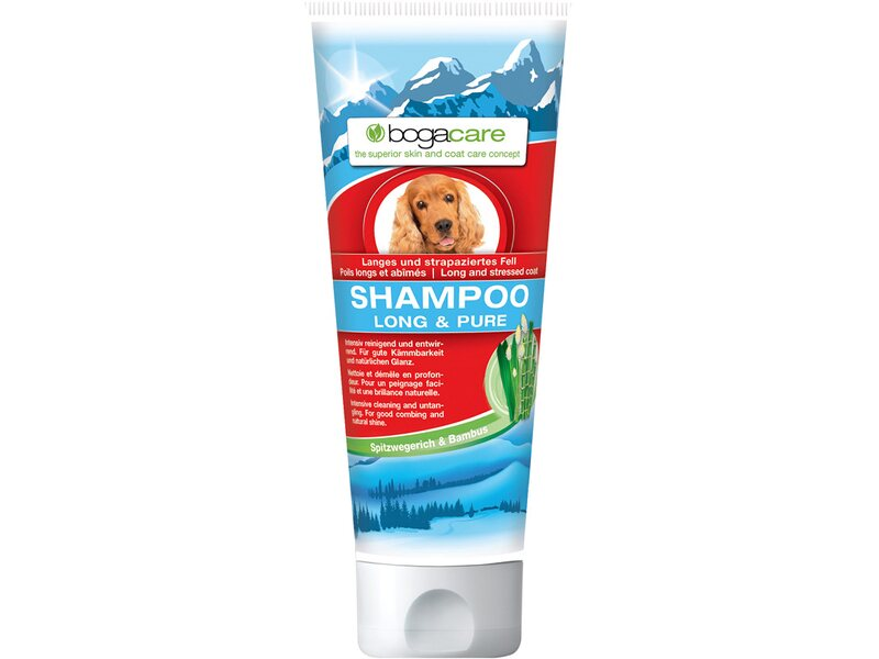 bogacare shampoo long pure hund 200 ml kaufen bei obi. Black Bedroom Furniture Sets. Home Design Ideas