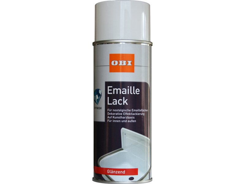 obi emaille lack spray wei gl nzend 400 ml kaufen bei obi. Black Bedroom Furniture Sets. Home Design Ideas