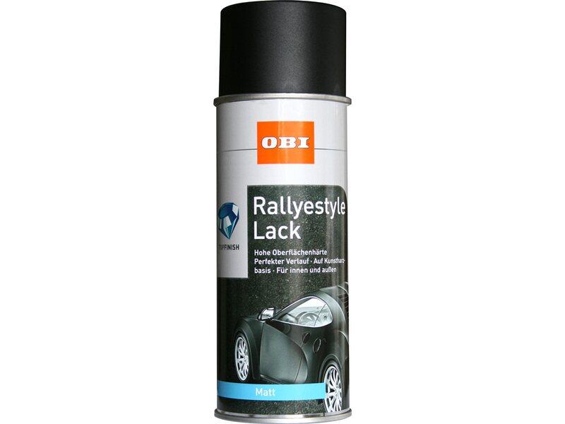 obi rallyestyle lack spray schwarz matt 400 ml kaufen bei obi. Black Bedroom Furniture Sets. Home Design Ideas