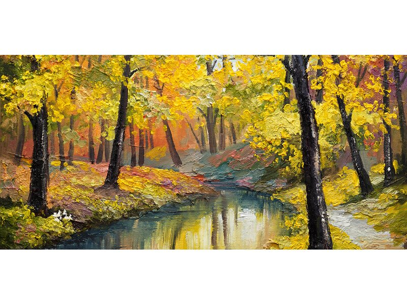 Eurographics Leinwandbild Canvas Art The Beauty Of November 55 cm x ...