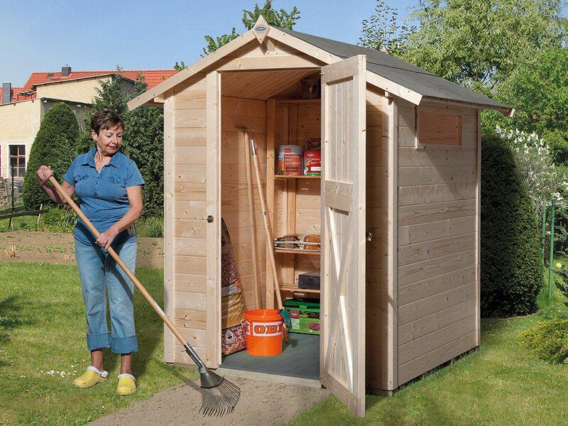 Obi Holz Gartenhaus Kompakt A Bxt 152 Cm X 150 Cm Kaufen Bei Obi