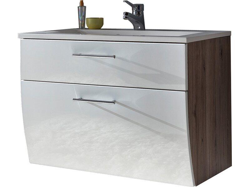 waschbecken schale mit unterschrank em96 hitoiro. Black Bedroom Furniture Sets. Home Design Ideas