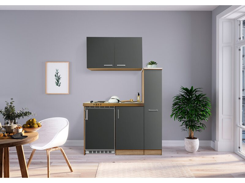 Miniküche Mit Kühlschrank Bauhaus : Küchenzeilen miniküchen günstig online kaufen bei obi