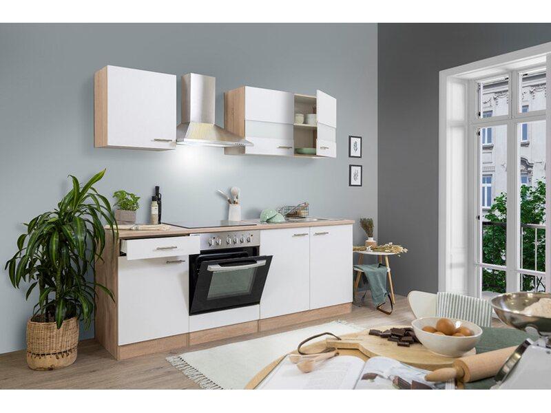 Miniküche 1 20 M Mit Kühlschrank : Küchenzeilen u2013 infos und günstig online kaufen obi