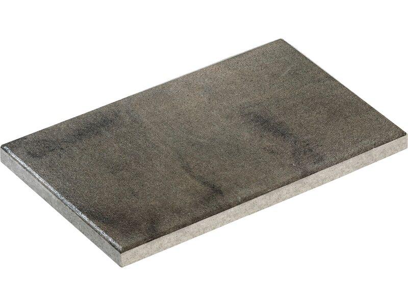 Pflanzkubel Beton Obi ~ Terrassenplatte beton nano tec grau schwarz geflammt cm
