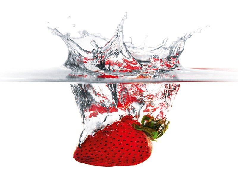 kitchen glas spritzschutz strawberry splash 50 cm x 90 cm kaufen bei obi. Black Bedroom Furniture Sets. Home Design Ideas