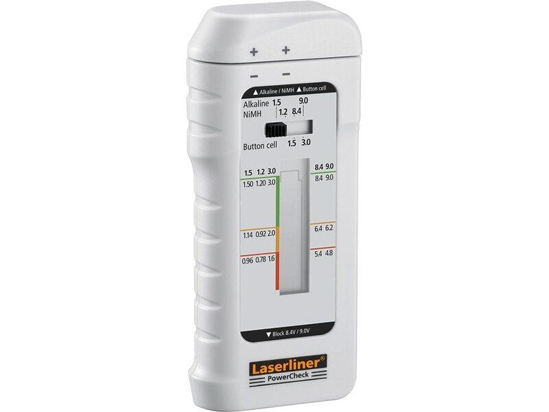 Laser Entfernungsmesser Obi : Laserliner powercheck batterietestgerät kaufen bei obi