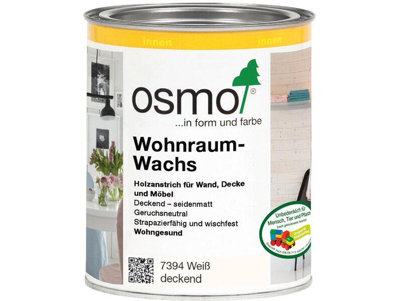 osmo wohnraum wachs wei deckend 750 ml kaufen bei obi. Black Bedroom Furniture Sets. Home Design Ideas