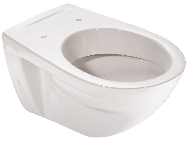 Hervorragend Sanitop-Wingenroth Wand-WC Barca Flachspüler clean Weiß kaufen bei OBI RD45