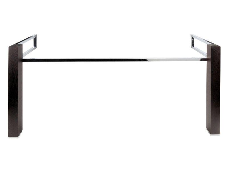 aquasu plan waschbecken untergestell mit fu 150 cm wenge furniert kaufen bei obi