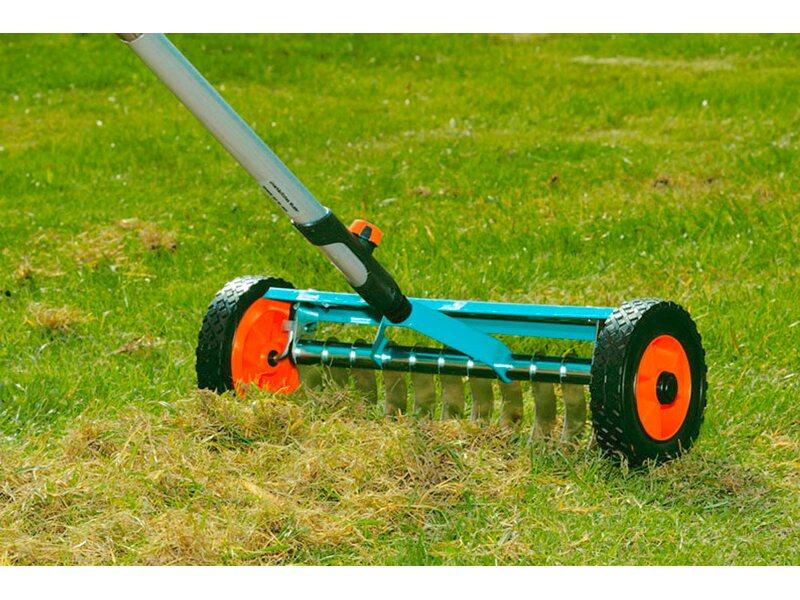 Gardena Combisystem Vertikutier Boy 32 Cm Arbeitsbreite Kaufen Bei Obi