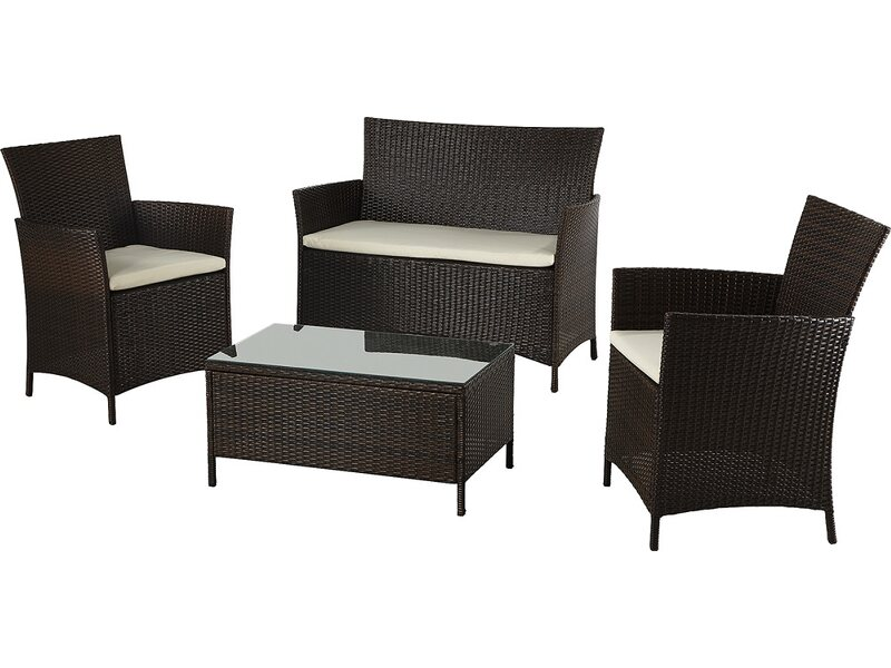 lounge gartenm bel braun online kaufen bei obi. Black Bedroom Furniture Sets. Home Design Ideas