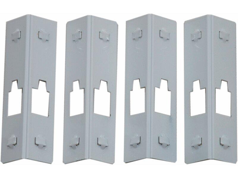 Vorratsregal Holz obi metall steckregal anthrazit 195 x 100 x 40 cm kaufen bei obi