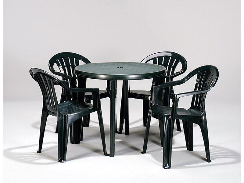 Jardin Dining Tisch Lisa Grun O 90 Cm X 73 Cm Kaufen Bei Obi