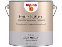 alpina feine farben no 12 blasses graugr n edelmatt 2 5 l kaufen bei obi. Black Bedroom Furniture Sets. Home Design Ideas
