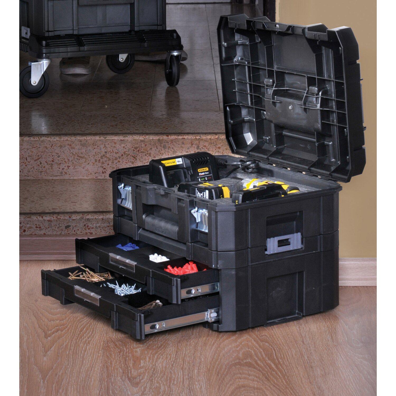 stanley fatmax aufbewahrungssystem tstak combo gro er werkzeugkoffer kaufen bei obi. Black Bedroom Furniture Sets. Home Design Ideas