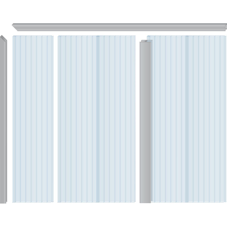 Pvc Hohlkammerpaneele 1 6 Cm Transparent 200 Cm X 20 Cm Kaufen Bei Obi