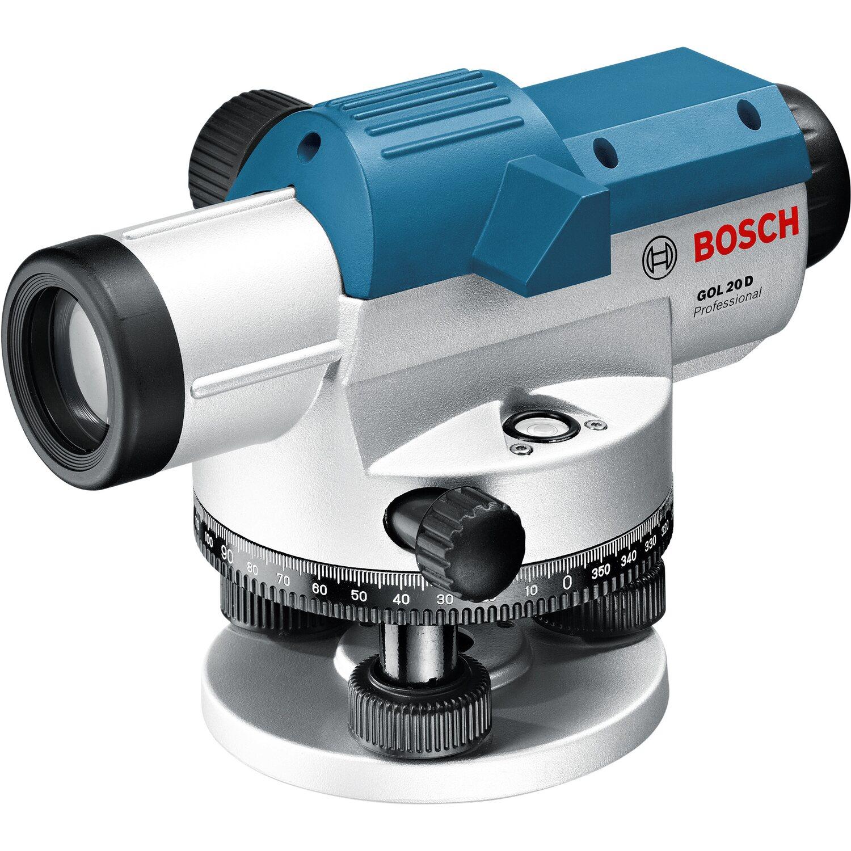 Bosch Professional  Optisches Nivelliergerät inkl. Stativ und Messleiste