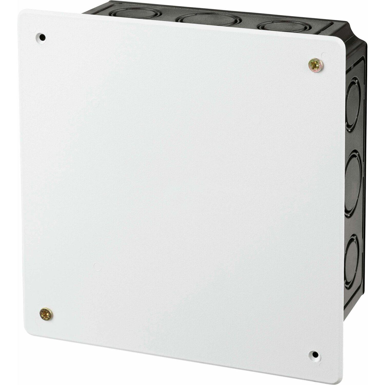 Sonstige Abzweigkasten Unterputz 165 mm x 165 mm Schwarz - Weiß IP20
