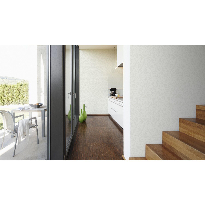 contzen vliestapete muster wei kaufen bei obi. Black Bedroom Furniture Sets. Home Design Ideas