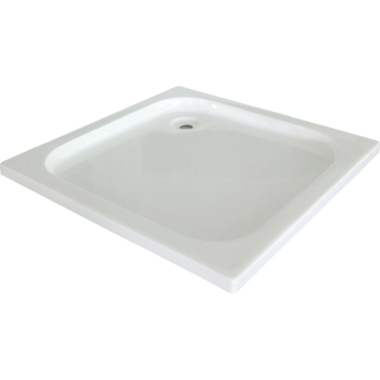 baliv Duschwanne DT-4703 Quadratisch 80 cm x 80 cm | Bad > Duschen > Duschwannen | baliv