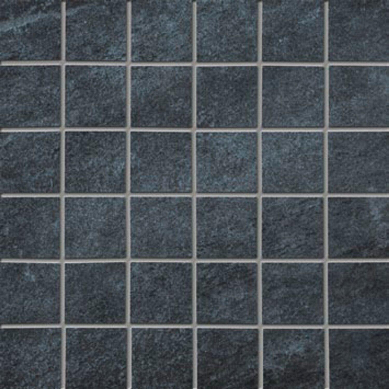 Sonstige Mosaikborde Antrax Nero 30 cm x 30 cm