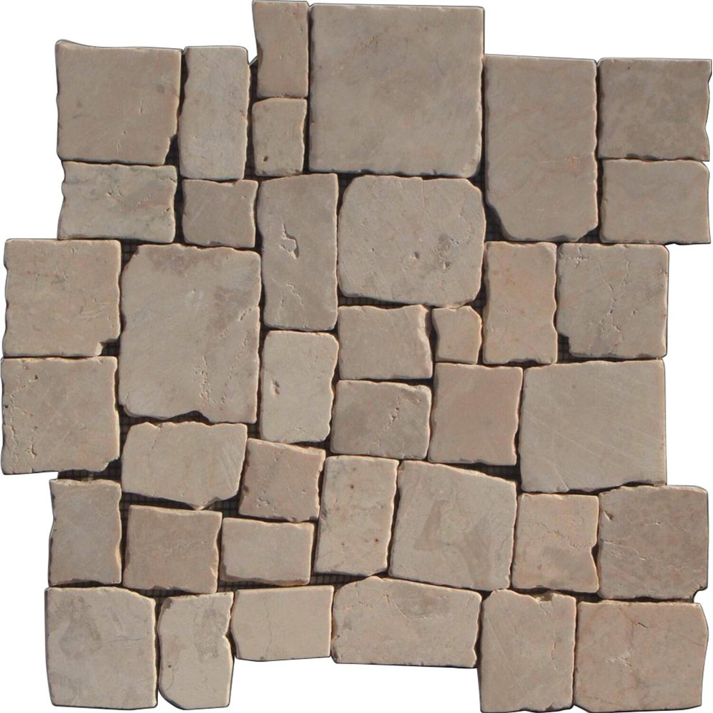 Sonstige Marmormosaik Murcino Creme 30 cm x 30 cm