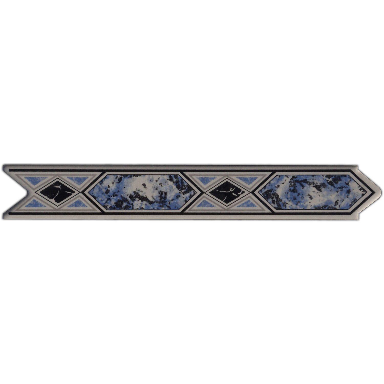 Sonstige Bordüre Olympic Blau 3 cm x 20 cm