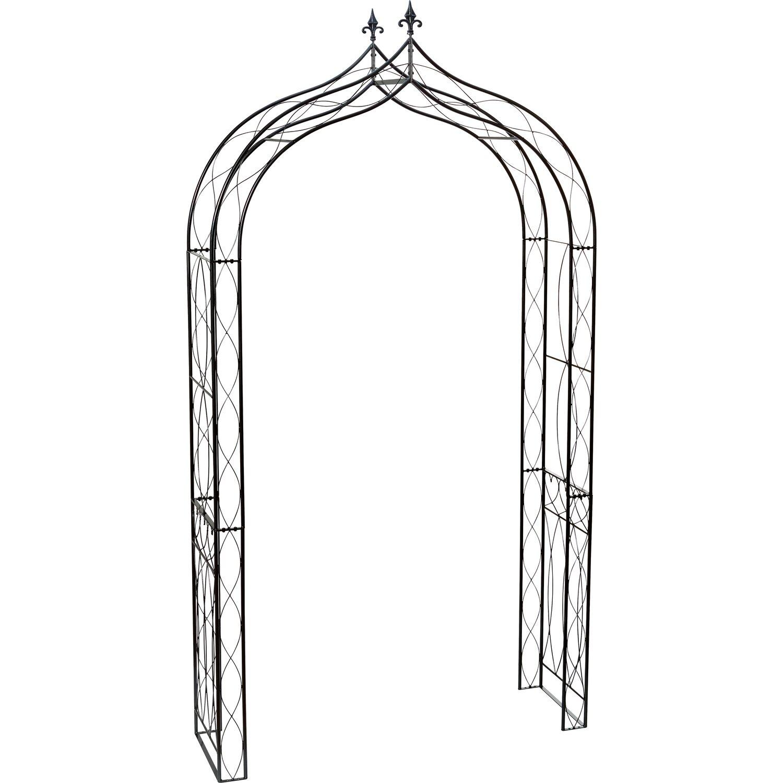 obi rosenbogen 250 cm grau kaufen bei obi. Black Bedroom Furniture Sets. Home Design Ideas