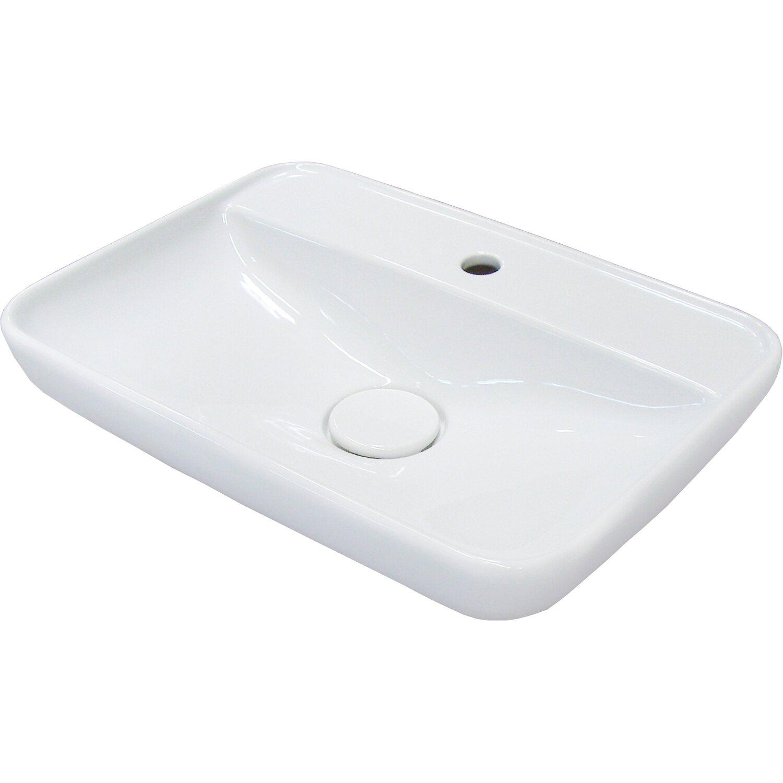 Fackelmann  Aufsatz-Waschbecken 60 cm Hype 2.0 Weiß