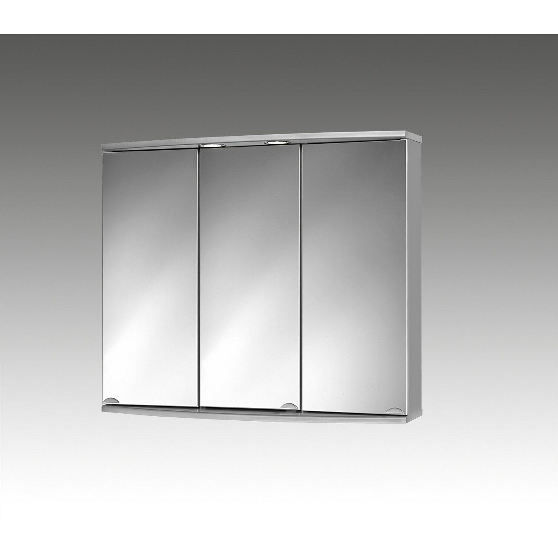 Sieper spiegelschrank 83 cm modena alu eek a kaufen bei obi for Spiegelschrank obi