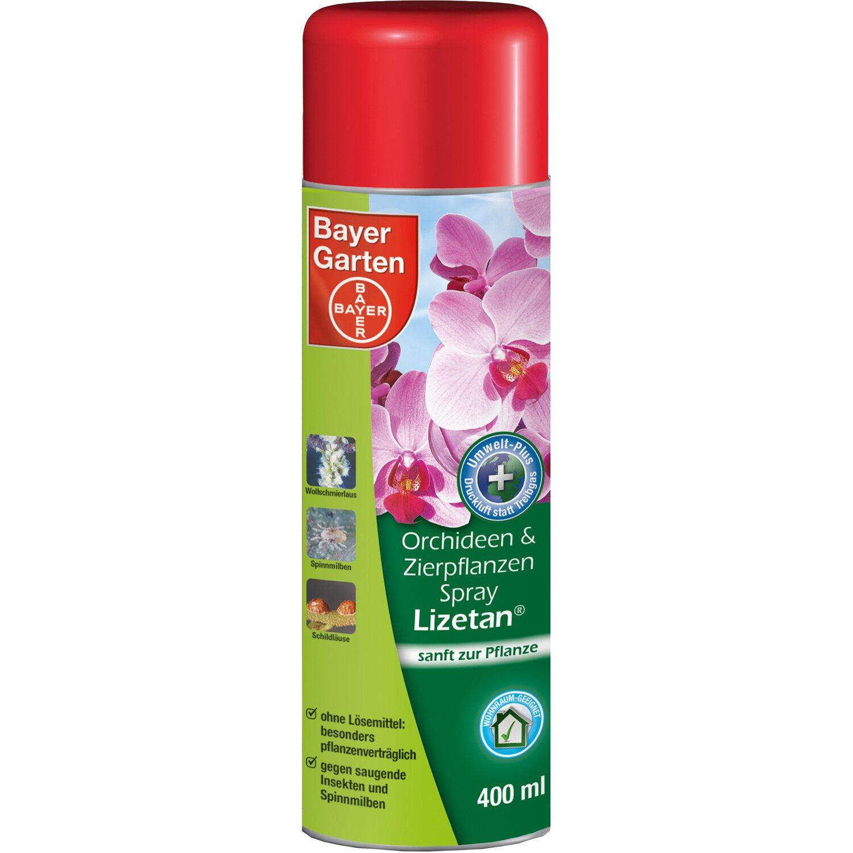 Bayer Garten Bayer Orchideen- und Zierpflanzen-Spray Lizetan 400 ml