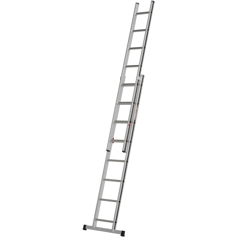 Hymer Schiebe-Leiter 2 x 8 Sprossen Arbeitshöhe 4,38 m   Baumarkt > Leitern und Treppen > Schiebeleiter   Hymer