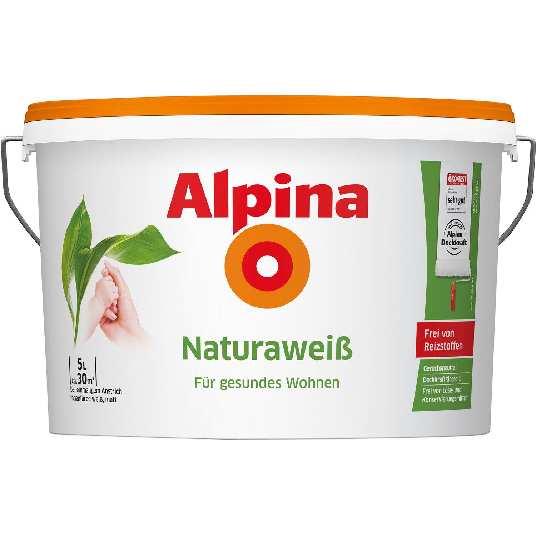 alpina natura weiss matt 5 l kaufen bei obi. Black Bedroom Furniture Sets. Home Design Ideas