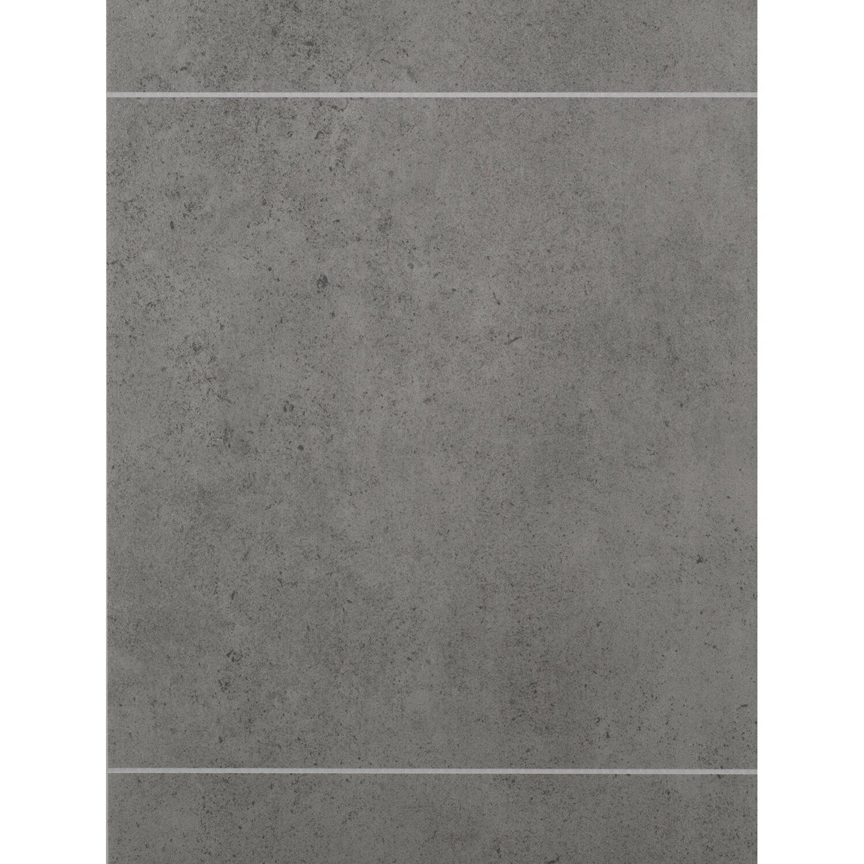 grosfillex paneel element premium square beton 260 x 50 cm kaufen bei obi. Black Bedroom Furniture Sets. Home Design Ideas