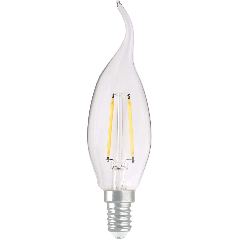 obi led filament leuchtmittel windsto kerzenform e14 2 3 w 250 lm eek a kaufen bei obi. Black Bedroom Furniture Sets. Home Design Ideas